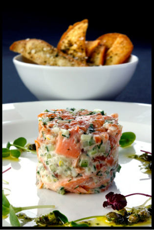 Rillette-of-Smoked,Poached&Salmon